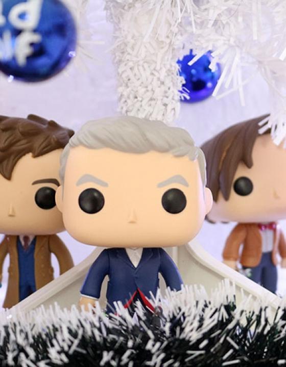 Decoração de Natal: Doctor Who