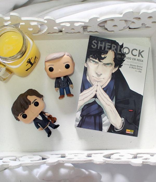 Sherlock: Um estudo em rosa (Mangá)