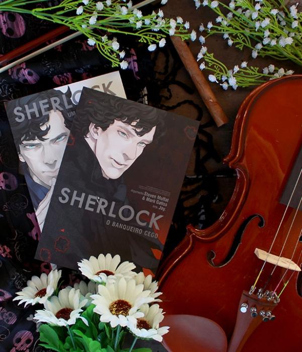 Sherlock: O Banqueiro Cego (Mangá #2)
