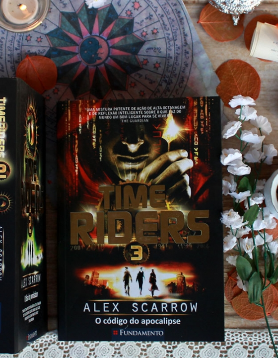 Time Riders #3 -O código do apocalipse – Alex Scarrow