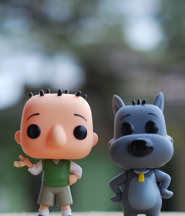 Funko Pop: Doug Funnie e Costelinha (Review e Fotos)