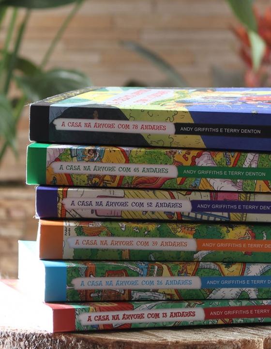 """3 motivos para comprar a série """"A Casa na Árvore"""" doAndy Griffiths eTerry Denton para uma criança"""