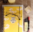 Bullet Journal: Como estou me organizando este ano